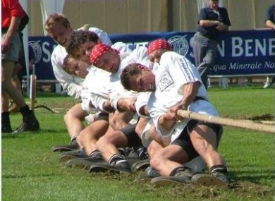 Tug of War was once an Olympic sport.