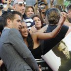 Colin Farrell with fans at the Savoy Cinema. Photo: Sasko Lazarov/Photocall Ireland