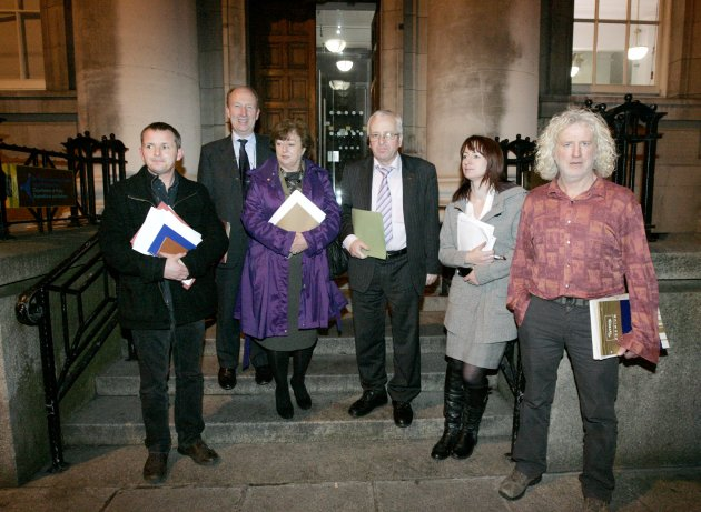 17/1/2012 United Left Alliance Troika Meetings