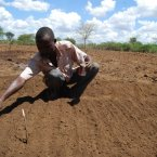 At work on a shamba (farm) in 2011