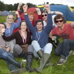 Music fans from Donegal pictured at Electric Picnic 2012. (Photo: Tony Kinlan)