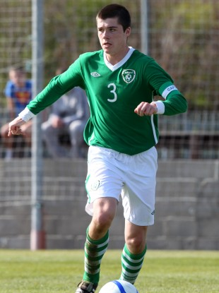 Liverpool's Alex O'Hanlon: one of 13 English-based players in the Tom Mohan's U17 squad.