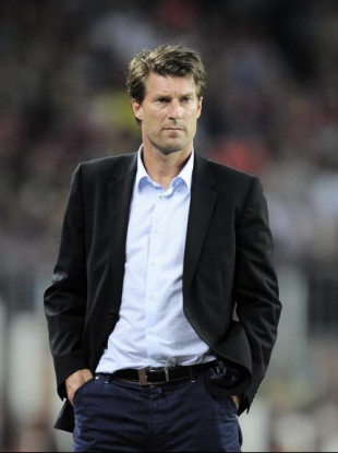 Michael Laudrup: replaces Brendan Rodgers at Liberty Stadium.