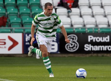 Turner leaves Shamrock Rovers after three years with the club.