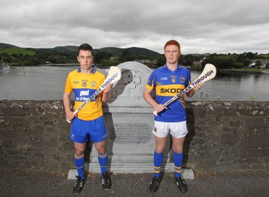 Bord Gais Energy Ambassador Conor McGrath of Clare and Tipperary's Jason Forde