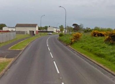 File Google Maps image of Monbrief East Road, Craigavon.