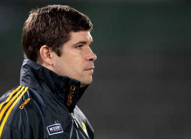 Eamonn Fitzmaurice is now in the hotseat in Kerry.