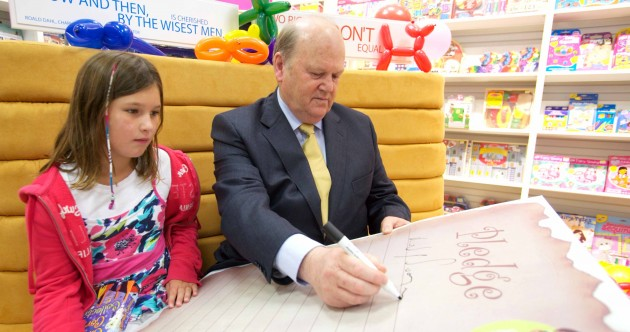 Caption competition: What is Michael Noonan writing?