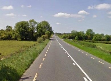 File Google Maps image of the N4 at Lisfarrell, Co Longford.