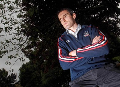 Cork captain Graham Canty at a press evening earlier this week.