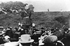 """But the fools, the fools, the fools!"" – Pearse funeral oration re-enacted at Glasnevin"