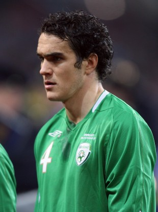 O'Brien lining out for Ireland in 2007.
