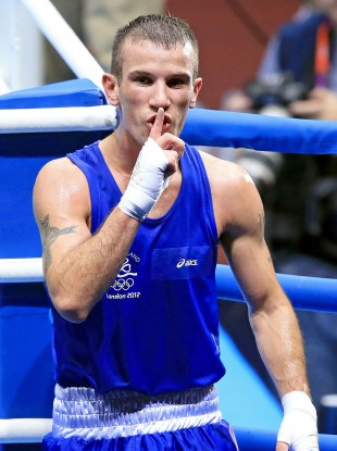 Ireland's John Joe Nevin will fight for gold tonight.