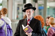 Pics: Why was 'James Joyce' at Dublin Airport?