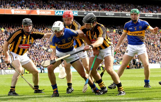 Noel Hickey, Tommy Walsh and JJ Delaney with Patrick Maher 4/9/2011