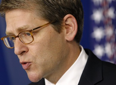 White House Press Secretary Jay Carney