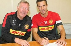 Done deal: Manchester United wrap up Robin van Persie signing