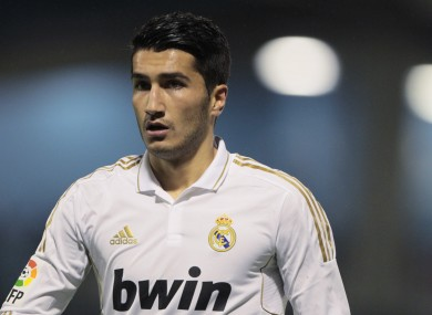 Turkish international Nuri Sahin.