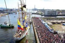 Tall Ships Festival in Dublin welcomed 1.15 million visitors