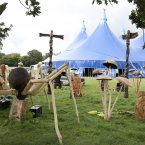 The 'Wyrd Wood' at this year's Electric Picnic festival. (Photo: Alf Harvey)