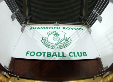 Shamrock Rovers' Tallaght Stadium.