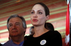 Angelina Jolie calls for international help for Syrian refugees