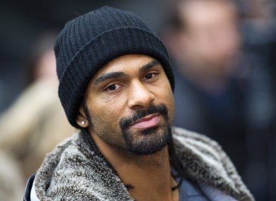David Haye says he won't fight in Ukraine owing to racism fears.
