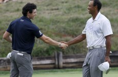 McIlroy leads world rankings, Woods in second