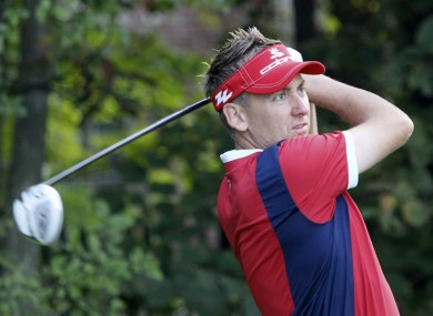 Ian Poulter will hope to continue his impressive Ryder Cup form next weekend.