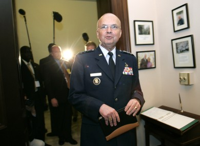 Ex-CIA Director Michael Hayden.