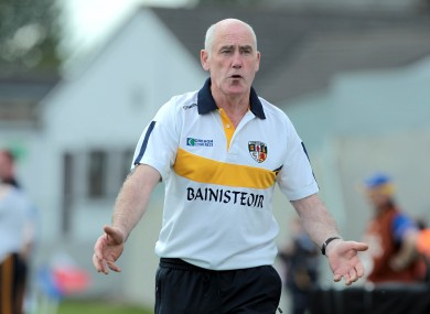 Dinny Cahill steered St Rynagh's to the Offaly senior hurling championship final yesterday.