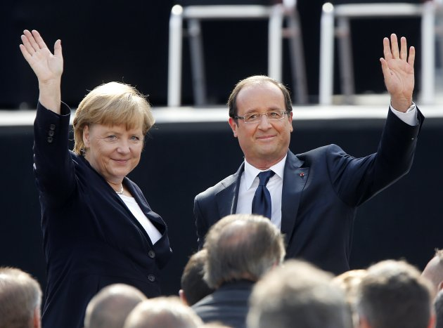 Germany France Merkel Hollande