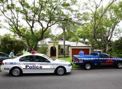 A police car in Perth (File photo)