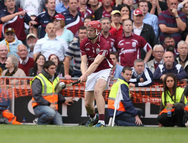 Joe Canning scores the point to draw the match in the last minute  9/9/2012