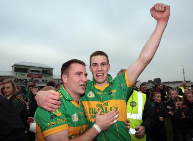 Rhode's Niall McNamee is still in the reckoning to land the Offaly SFC title with his side.