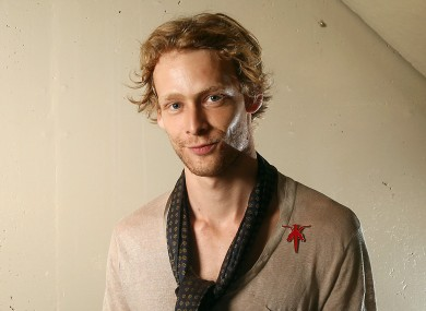 September 14, 2011 file photo shows actor Johnny Lewis posing for a portrait during the 36th Toronto International Film Festival