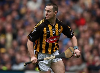 Kavanagh playing for Kilkenny back in 2009.