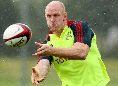 Paul O'Connell: Targeting and Ireland comeback against South Africa.