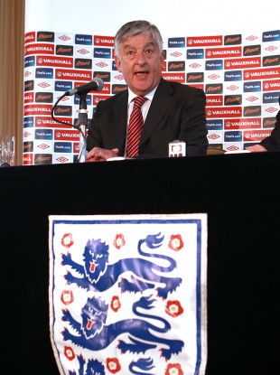 FA chairman David Bernstein. File photo.
