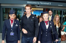 Murray back in Britain after US Open triumph