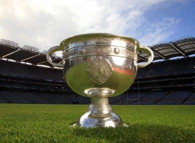 The prize on offer in Croke Park on Sunday.