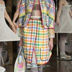 Thom Browne Spring 2013 collection (AP Photo/John Minchillo)