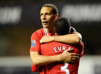 Rio Ferdinand: happy to get a run of games.