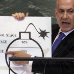 """Red lines don't lead to war, red lines prevent war."" – Israeli PM Benjamin Netanyahu urges the international community to take action to bring an end to Iran's reported attempts to build a nuclear bomb."
