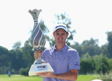Top man: Justin Rose.