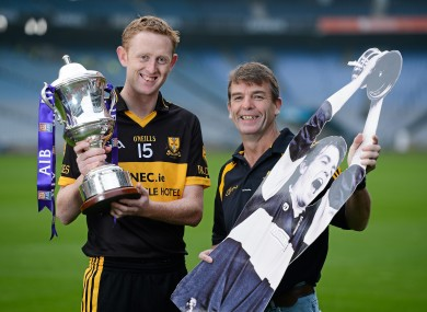 Colm Cooper and Seanie O'Shea, Dr Crokes, Kerry