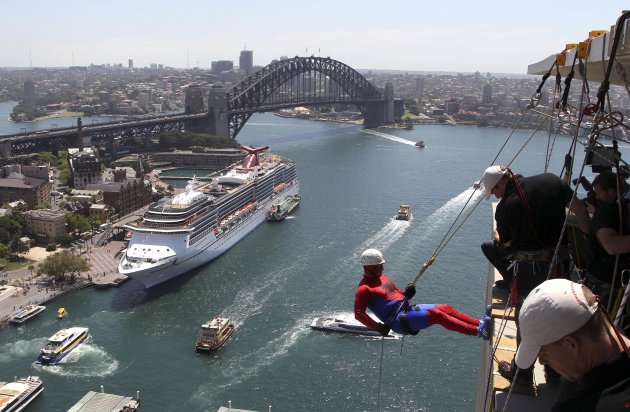 Australia Abseil for Youth