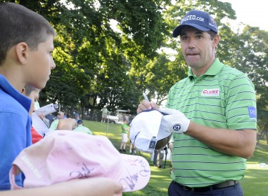 Padraig Harrington of Ireland. File pic.