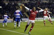 Football eh? Arsenal reel in four-goal deficit to beat Reading in 12-goal thriller