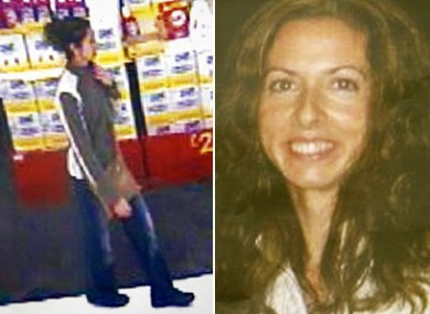 Catherine's sister Emma, the last known sighting of the 37-year-old and a recent image.
